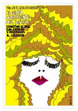 "Movie Poster for German film""SLEEPING Beauty""La bella durmiente.Doll decor Art"
