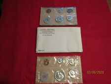 "Complete and original 10 coins Both /""P/"" /& /""D/"" 1960 Official U.S Mint Set"