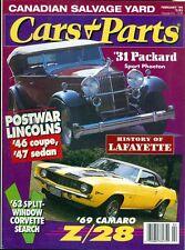 1994 Cars & Parts Magazine: 1931 Packard Sport Phaeton/1969 Camaro/Lincolns