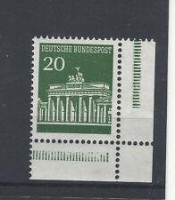 Bund Eckrand   Formnummer FN 0 A postfrisch Michel Nr 507