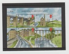 Gb Stamp Sheet - Industrial Archaeology Ms1444 - Second Series