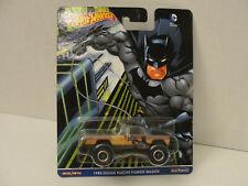 Hot Wheels Pop Culture DC Comics Batman 1980 Dodge Macho Power Wagon w/RR's
