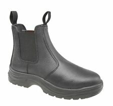 Grafters Steel Toe Safety Rigger Boots Size Uk 6 - 15 Work Black Or Tan M021 Kd-Brown-Uk 14 (eu 49) P1t71eAw