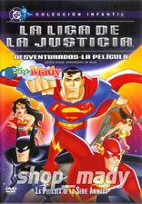 Justice League - La Liga de la Justicia: La Pelicula en Español Latino R1 y R4