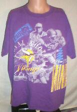 Minnesota Vikings Vintage 1993 T-Shirt (XL) SKOL Carter Era NFL All Over Prints