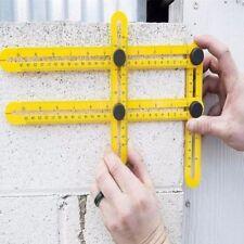 Professional Template Tool Angle Measuring Protractor Multi-Angle Ruler