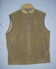 REI Polartec Fleece Vest, Green men's size large