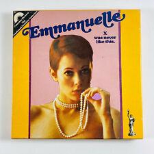 Vintage Emmanuelle Super 8mm Color Sound Film 400ft Reel w/ Box NICE