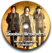 THE DOOBIE BROTHERS ROCK GUITAR TAB TABLATURE SONG BOOK SOFTWARE CD