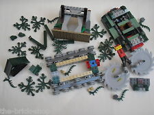 Lot de pièces LEGO INDIANA JONES pour set  7626 Jungle Cutter / Incomplet