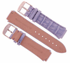 Authentic Technomarine Genuine Alligator  Band Strap 17mm 1134 PURPLE NEW