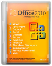 Microsoft Office 2010 Professional Plus Software Full Suite Digital Download