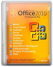 MICROSOFT Office 2010 Professional Plus Software Suite completa di download digitale