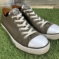 UK9.5 Dunlop Retro Style Canvas Shoes - Low Top Casual Trainers - EU43.5