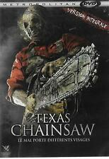 TEXAS CHAINSAW  VERSION INTEGRALE   PARFAIT ETAT