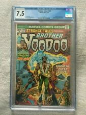 CGC Strange Tales # 169 * First appearance Brother Voodoo * White Pages * 7.5