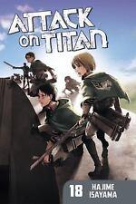 Attack on Titan, Volume 18 by Hajime Isayama (English) Paperback Book