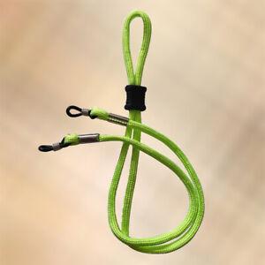 NEW Lime Green Adjustable Glasses / Sunglasses Sports Strap Cord Neck Holder