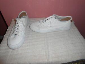 Frye Gia Low Lace-up Sneakers Women Size 10M White