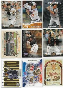 Manny Machado, 30 Different Card Lot / RC + Inserts   /  Padres