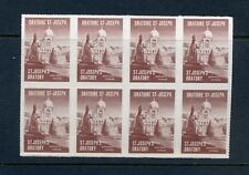 8 Vintage St Joseph'S Oratory Poster Stamps (L692) Montreal Canada