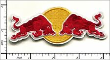 20 Pcs Embroidered Iron/Sew on patches Red Bull Energy AP016cE
