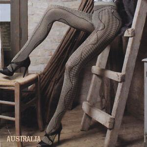 "Trasparenze ""Australia""  Rope Coloured Aboriginal Inspired Art Tights"