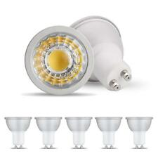 Lotus Led GU10 5w COB LED Dimmable Light Bulbs Halogen Warm White 2700K 5 Pack