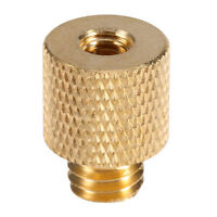 "3/8"" Male To 1/4"" Female Brass Screw Tripod Thread Adapter UK Seller"