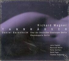 Richard Wagner Tannhauser box CD NEW Daniel Barenboim Berlin State Opera