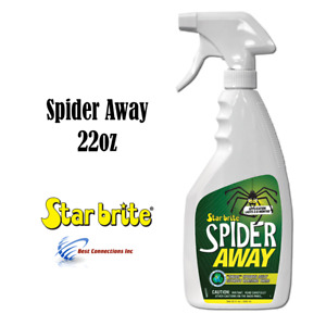 Spider Away Non Toxic Spider Repellent 22 oz Star Brite 95022 Safe For Pets