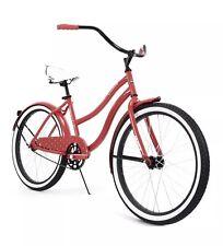 "HUFFY 24"" CRANBROOK Women's Cruiser Bike RED *NEW In Box"