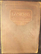 La Sierra 1922 Pasadena University Yearbook California