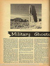 Military Ghost on Carson River, Nevada - Fort Churchill