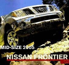 2005 Nissan Frontier Pickup Factory Brochure-Frontier