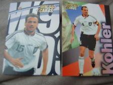 WM 98 Card-s Karte DFB Deutsche Fussball Nationalmannschaft ANDREAS KÖPKE 2