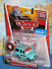 DISNEY PIXAR CARS TOON TORMENTOR'S BIGGEST FAN MONSTER TRUCK MATER *NEW & RARE*