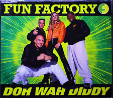 "FUN FACTORY  ""Doh Wah Diddy""  5-Track-Maxi-CD 1995"