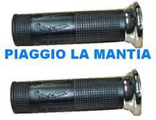 CM083805 - CM083806 COPPIA MANOPOLE CROMATE ORIGINALI PIAGGIO VESPA PX F.D.