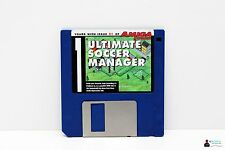 "Commodore Amiga 3,5"" gioco-ULTIMATE soccer manager-POWER DISCO 51"