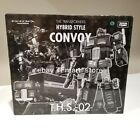Transformers Hybrid Style THS-02B Black Convoy E-Hobby Takara - Blue Windows
