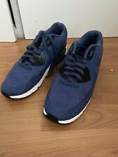 NIKE AIR MAX 90 2.0 SE BLUE RECALL WOVEN TRAINERS RARE U.K. Size 10 Free Postage