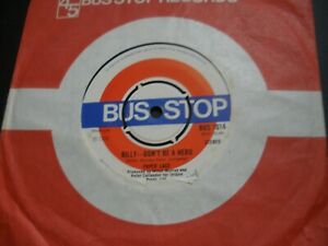 """Paper Lace Billy Don't Be A Hero b/w Celia 7"""" Single in Company Sleeve BUS 1014"""