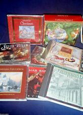 Lot of 12 Christmas Music CDs Some are Brand New Hours of  Assorted Artists