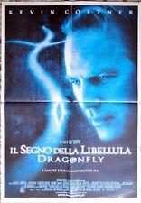 manifesto movie poster 1F IL SEGNO DELLA LIBELULLA DRAGONFLY COSTNER CINEMA