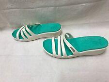Women's Crocs Rhonda Wedge White Size 8   8J