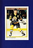 Ray Bourque HOF 1990-91 O-PEE-CHEE OPC Premier Hockey #9 (MINT) Boston Bruins