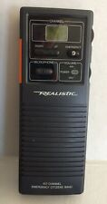 Realistic 40 Channel Road Emergency 2 Way CB Radio TRC-409 Citizens Band NOS