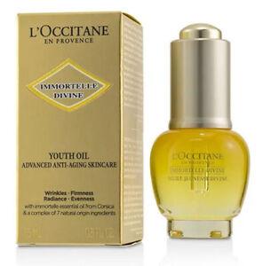 L'Occitane Immortelle Divine Youth Oil (15ml)+ 4 Free Divine sample