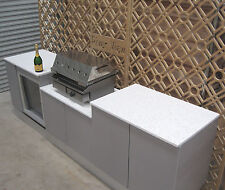 OUTDOOR KITCHEN Alfresco PRESTIGE Engineered Stone + Marine Plywood  $6995 value